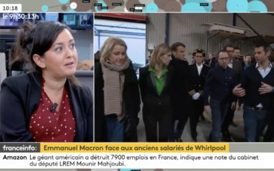 Macron à Whirlpool : Stop aux 2 poids 2 mesures !