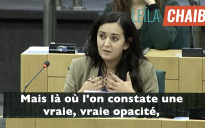 C'est l'opacité la plus totale qui règne au Conseil européen. Cela doit cesser !
