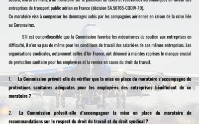 Question écrite à la Commission européenne : que faite-elle pour protéger les salariés ?