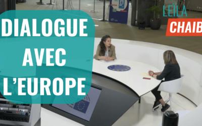 L'UE face au Covid-19, désinformation et Maghreb, Leïla Chaibi, invitée de dialogue avec l'Europe.
