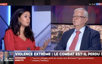 Attaque de policiers, libération de Sophie Pétronin, Leïla Chaibi sur LCI