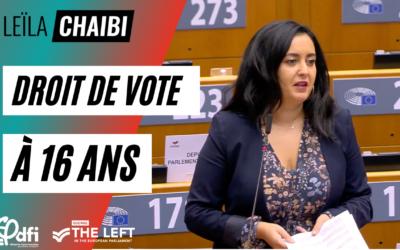 Vidéo | Pour le droit de vote à 16 ans !