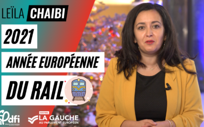 Vidéo | 2021, année européenne du rail