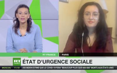 Vidéo | Déclarons l'état d'urgence sociale ! Itw sur RT France