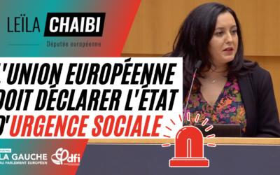 Vidéo | Je vous propose de déclarer l'état d'urgence sociale en Europe !