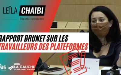 Vidéo | Face au lobbying intensif d'Uber, le Parlement européen doit envoyer un signal fort
