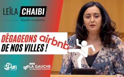 Dégageons Airbnb de nos villes !