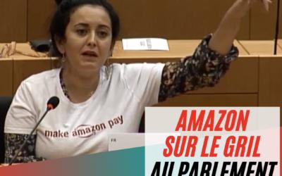 Vidéo | Audition Amazon au Parlement européen