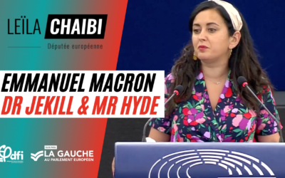 Vidéo | Emmanuel Macron, Dr Jekill & Mr Hyde