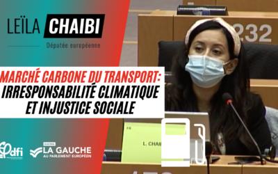 Vidéo | Marché carbone du transport : irresponsabilité climatique et injustice sociale