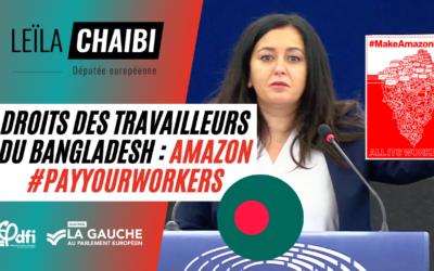 Vidéo | Amazon, PayYourWorkers au Bangladesh comme ailleurs !