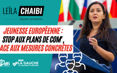 Pour la jeunesse européenne, 0, walou, nada. Aucune mesure concrète !