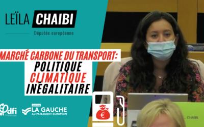 Marché carbone du transport : politique climatique inégalitaire